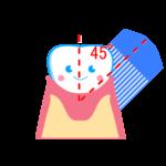 自分でできる歯周病予防。正しいブラッシング方法を知ろう!